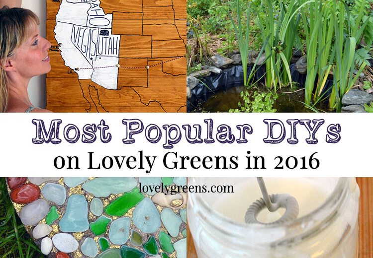 Lovely Greens' Most Popular DIYs 2016
