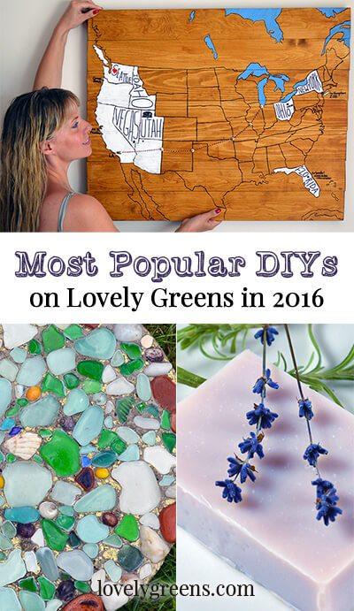 Most Popular DIYs on Lovely Greens in 2016