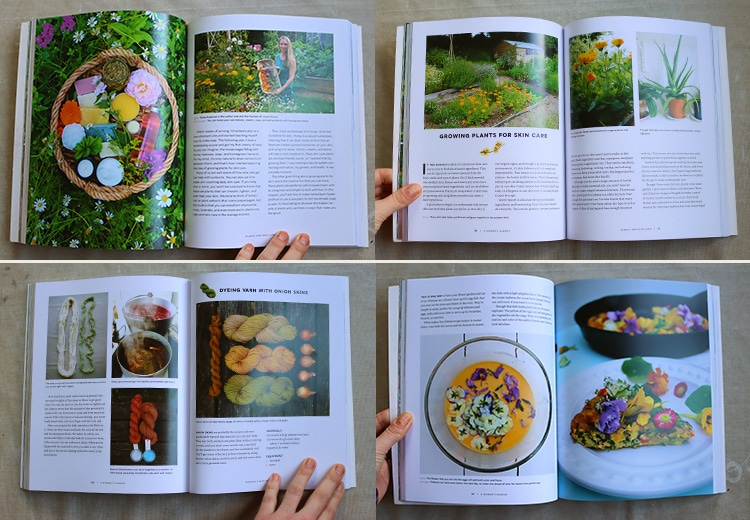 A Woman's Garden, a new book from Tanya Anderson of Lovely Greens, covers seven categories of useful plants, over thirty-five plant-based projects and recipes, and features women gardeners and their growing spaces #gardeningtips #diy