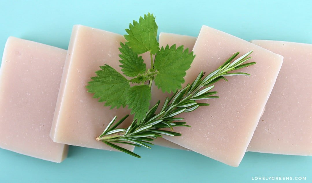 Simple Herbal Shampoo Bar Recipe for Naturally Washing Your Hair