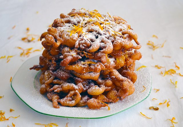 Calendula & Honey Funnel Cake Recipe