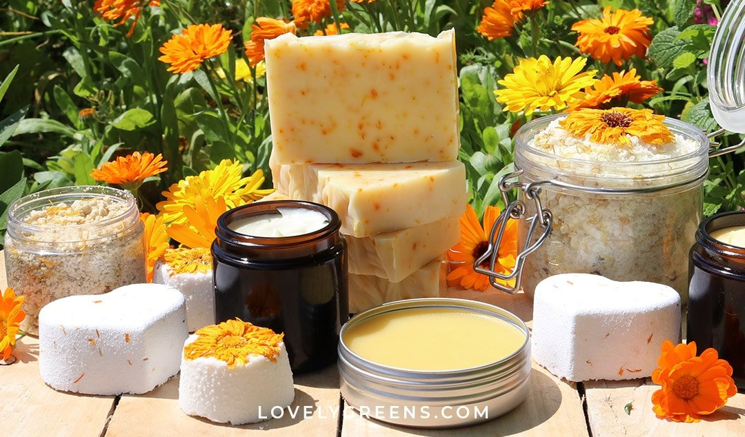 How to use Calendula Flowers in Skincare