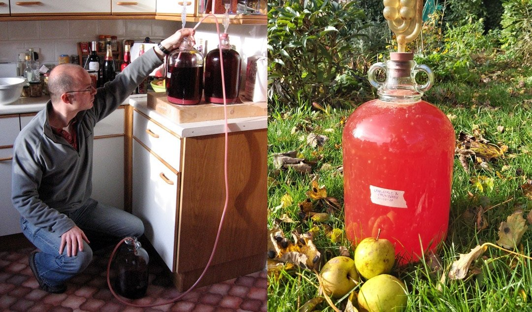 How to make Homemade Country Wine