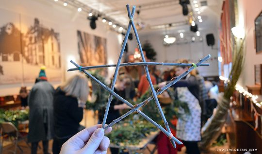 How to weave a Simple Twig Star