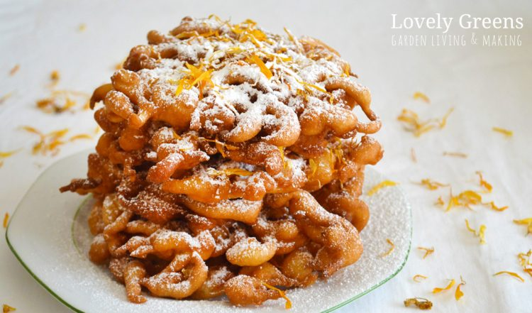 Calendula & Honey Funnel Cake recipe