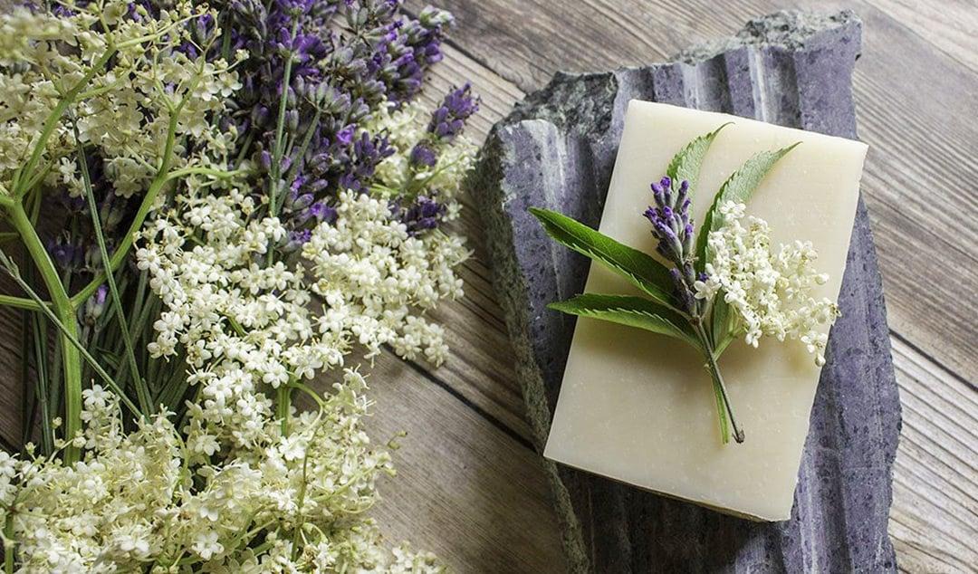 Elderflower & Lavender Soap Recipe