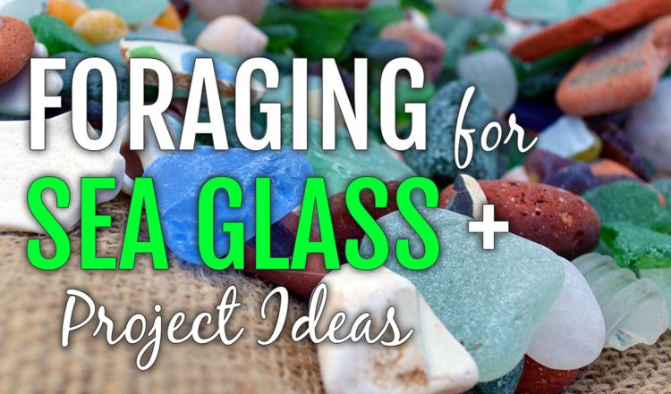 Sea Glass Foraging + Project Ideas