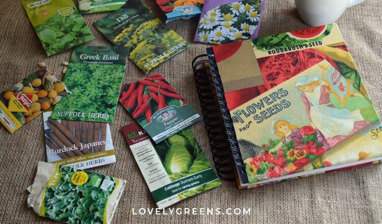 Create a Seed Book as a Handmade Garden Gift