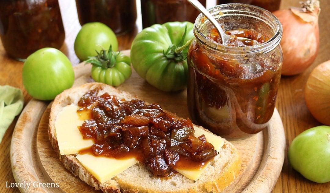 Easy Green Tomato Chutney Recipe