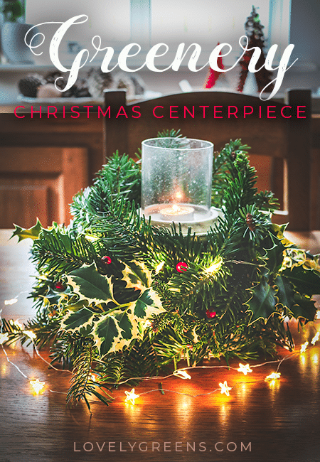 How to use a colander, foraged greenery, & extra decorations to make a Christmas