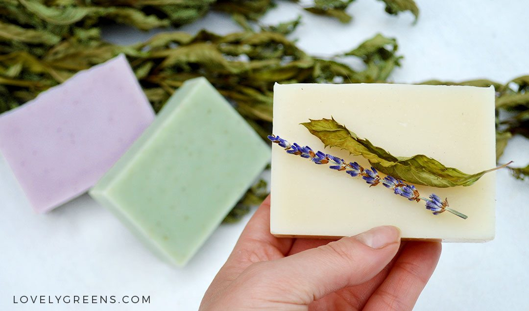 14 Recipes for Handmade Natural Soap -- includes recipes for goat milk soap, natural rose soap, tallow soap, and how to felt soap #soapmaking #soaprecipe #soap #howtomakesoap