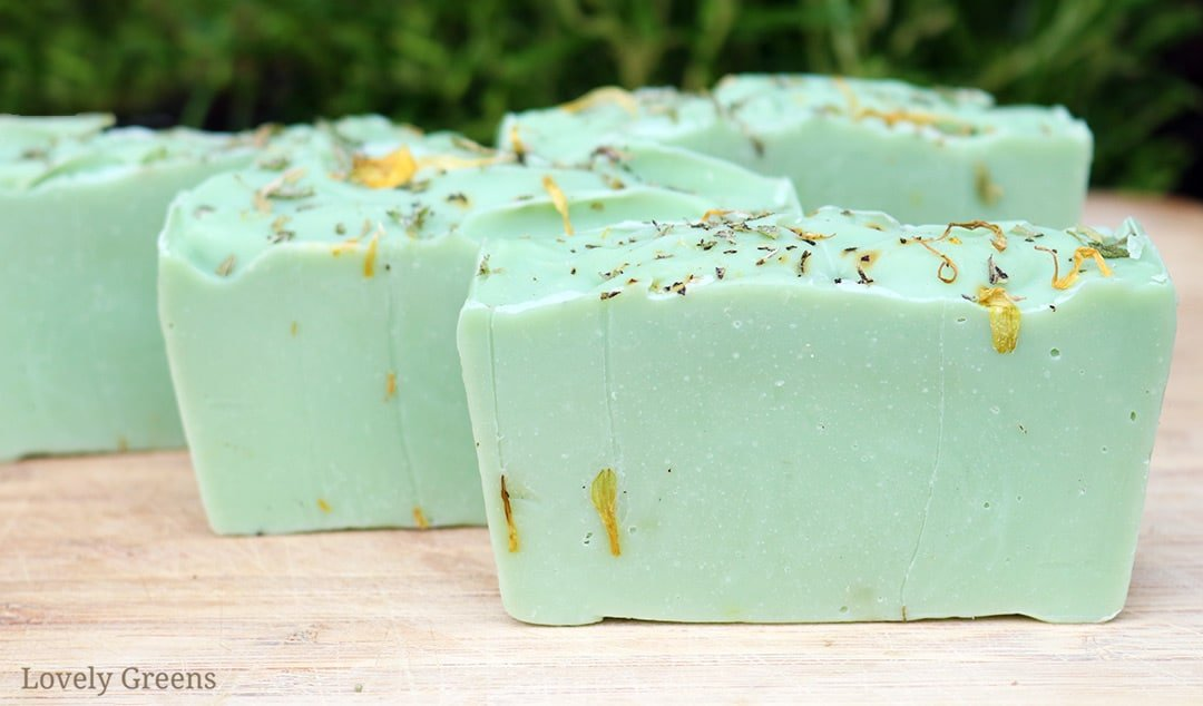 How to make Herbal Soap with Rosemary and Peppermint