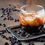 How to make Kahlua – everyone's favorite Coffee Liqueur. For this recipe you'll need just a few ingredients including coffee, vanilla, and vodka #lovelygreens #liqueurrecipe #diychristmas