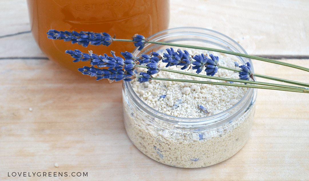 Lavender & Honey Soapless Facial Cleanser Recipe