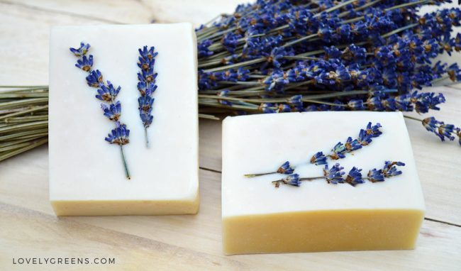 Honey & Lavender Soap Recipe + Instructions #soapmaking #naturalsoapmaking #soap #soaprecipe