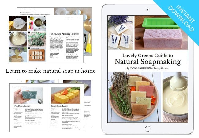 This long-awaited natural soapmaking guide will teach you how to confidently make soap from scratch using all-natural ingredients with step-by-step instructions
