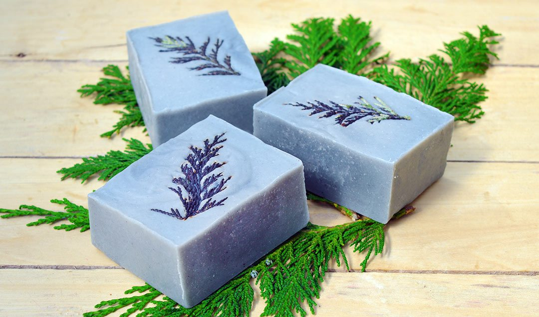 How to make Cedarwood & Lemongrass Soap