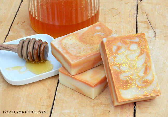 Festive Honey Soap Recipe