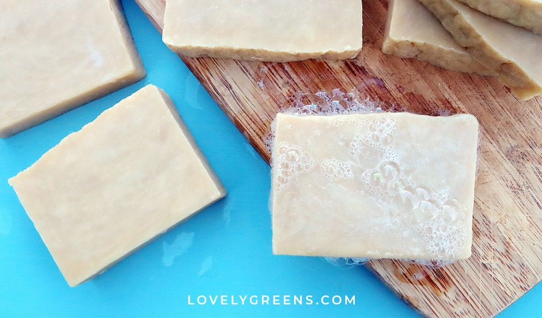 Simple & Moisturizing Hot Process Soap Recipe