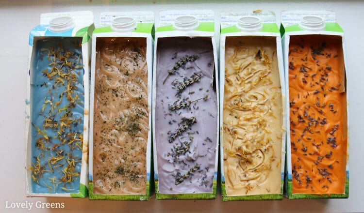 Learn to make handmade soap with Lovely Greens