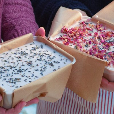 Learn to make handmade soap online