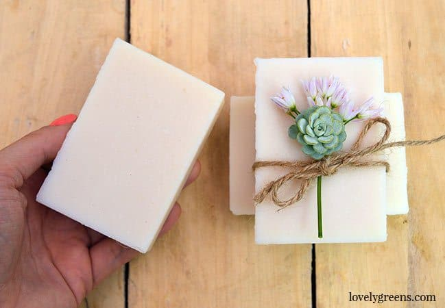 how to make bar soap with milk