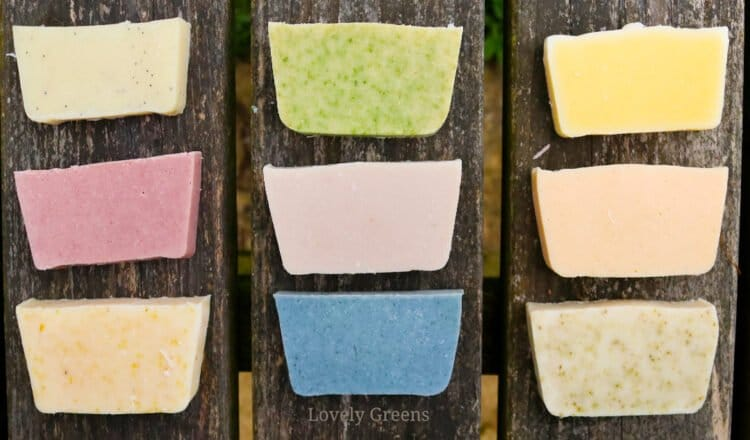 Ways to use Plants in Soap Making