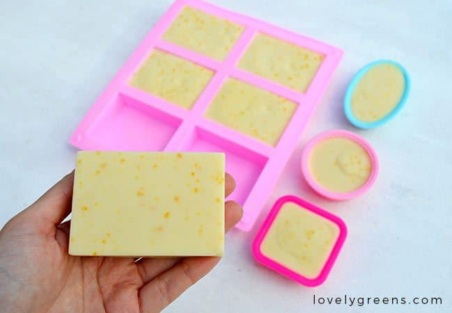 Sweet Orange Soap Recipe by Lovely Greens
