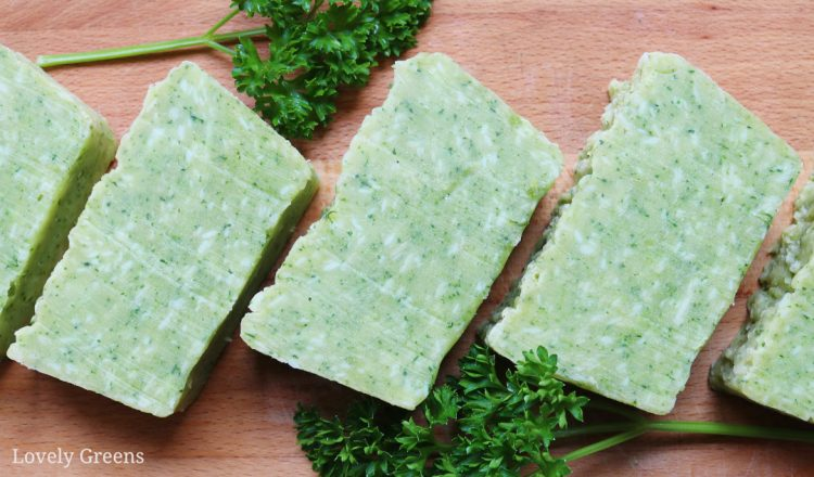 Parsley Soap Recipe: how to naturally make green soap