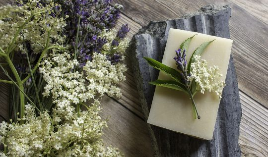 Elderflower & Lavender Soap Recipe