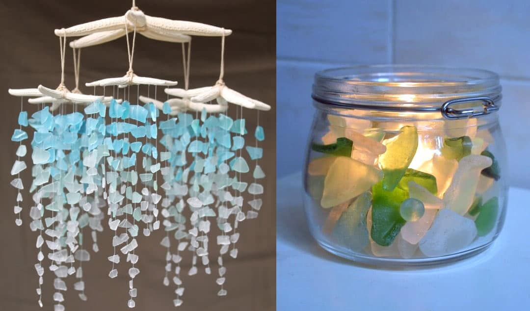5682e74f45c 30 Sea Glass Ideas & Projects • Lovely Greens
