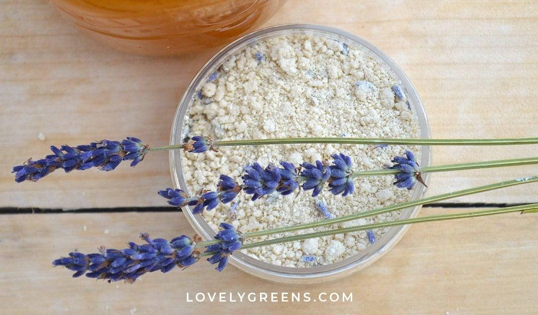 Lavender & Honey Soapless Face Cleanser Recipe