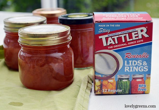 Ruby Red Rhubarb Jam Recipe