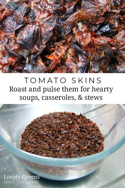 Traditional recipe for how to can tomatoes. Use this method to preserve homegrown tomatoes or buy them in-season from the farmers market. Roast the leftover skins and pulse them for a hearty ingredient for soups, casseroles, and stews #lovelygreens #preserving #canning #tomatorecipe #selfsufficient #bottling #gardenrecipes #foodinjars