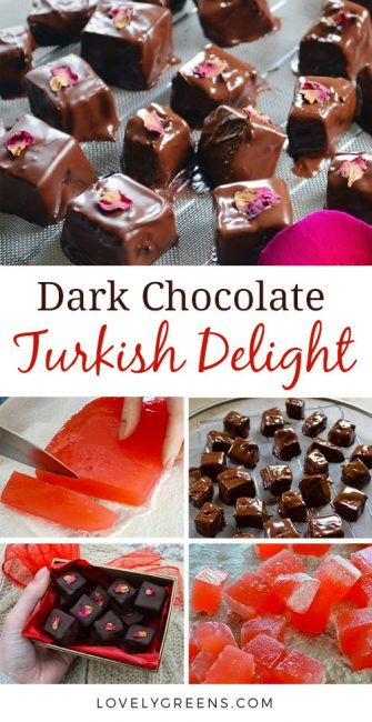 Dark Chocolate Turkish Delight Recipe