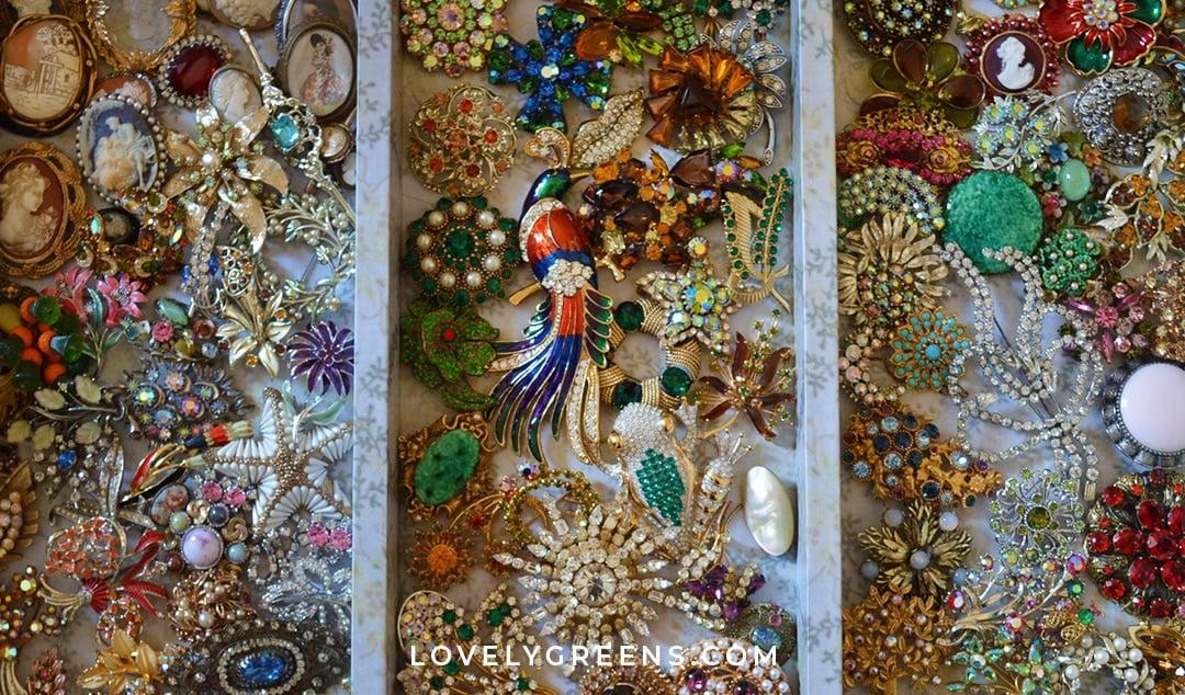 A Treasure Trove of Vintage Jewelry