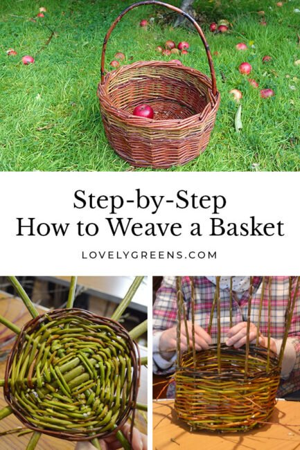 How to weave a willow basket using natural materials and a few hand tools. Presented by a master willow weaver from the British Isles #homesteading #crafts #weaving