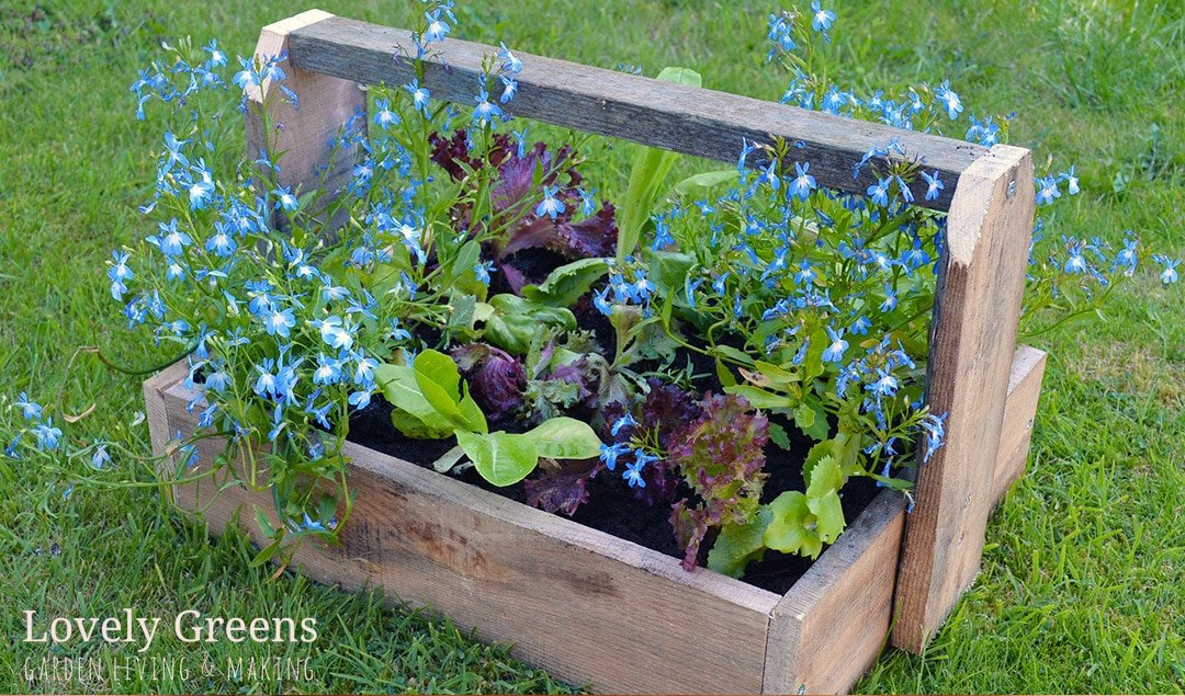 Pallet Project: DIY Trugs & Wood Planters